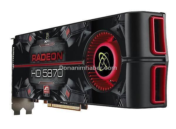 XFX'in Radeon HD 5850 ve 5870 modelleri gün ışığına çıktı