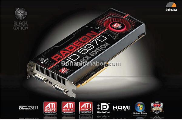 XFX Radeon HD 5970 Black Edition modelini satışa sundu