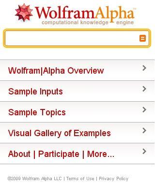 Wolfram Alpha artık iPhone kullanıcılarının da hizmetinde!