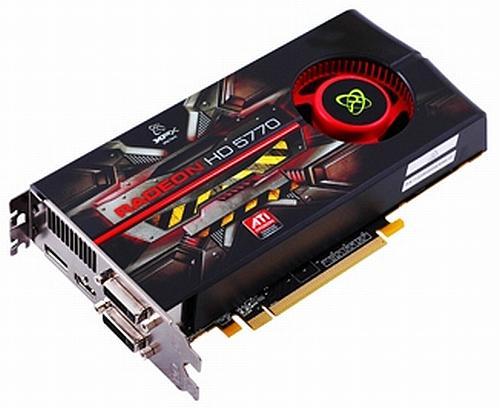 XFX Radeon HD 5750 ve Radeon HD 5770 modellerini satışa sundu