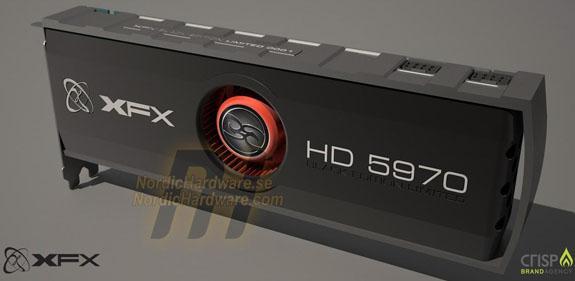 XFX HD 5970 Eyefinity6 Black Edition göründü
