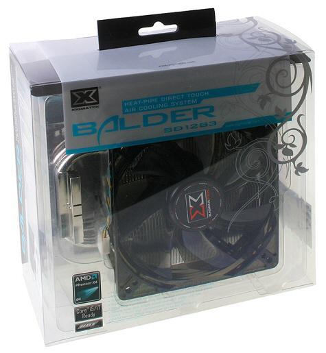 Xigmatek'den yeni işlemci soğutucusu: Balder SD1283