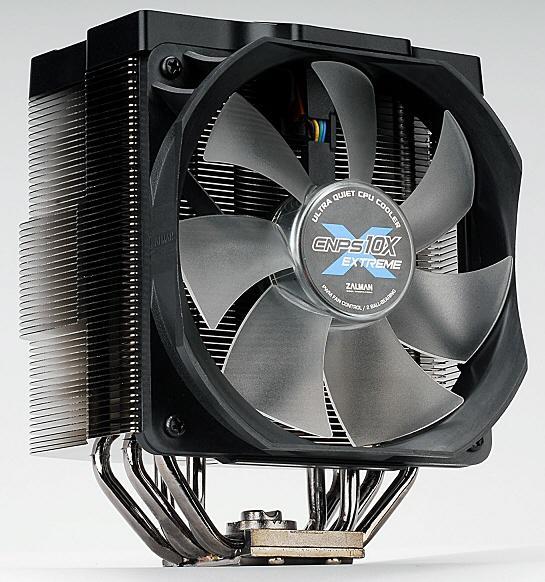 Zalman'dan Core i5 işlemcilere de destek veren yeni soğutucu; CNPS10X Extreme