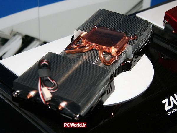 Zalman ekran kartları için hazırladığı yeni soğutucusunu gösterdi: VF3000
