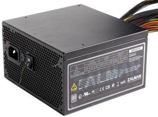 Zalman'dan 500 Watt ve 600 Watt'lık iki yeni güç kaynağı; ZM500-ST ve ZM600-ST