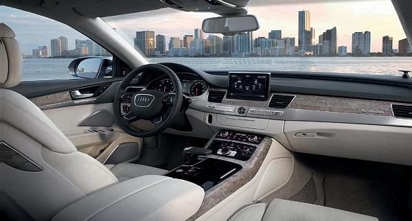 Audi A8, Nvidia Tegra ve Google Earth ile donatılıyor