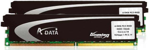 A-DATA, XPG serisi DDR2-1066MHz belleklerini duyurdu