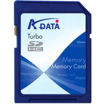 A-Data Turbo serisi 16GB kapasiteli SDHC bellek kartını duyurdu