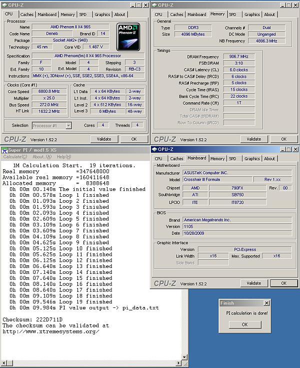 AMD, SuperPi 1M testinde ilk defa 10 saniyenin altına indi