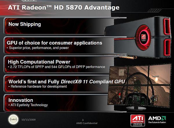 AMD rakibi Nvidia'ya yüklendi: Teknik özellikleriyle ATi HD 5870 vs. Fermi karşılaştırması