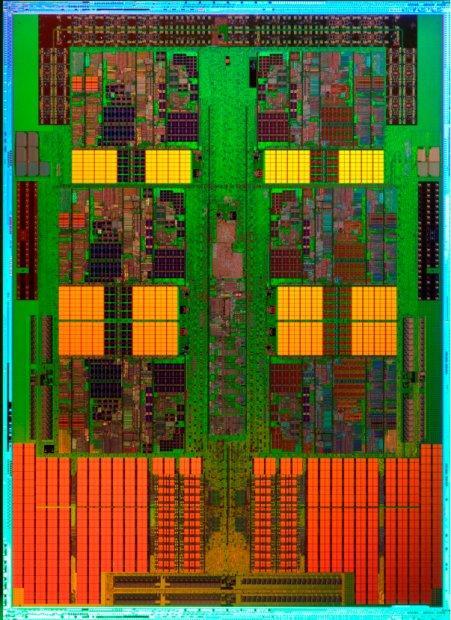 6 çekirdekli AMD Istanbul işlemcisinin zar görüntüsü yayımlandı