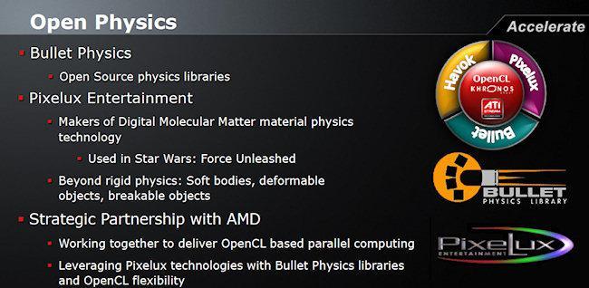 AMD 'Open Physics' yaklaşımını güncelledi