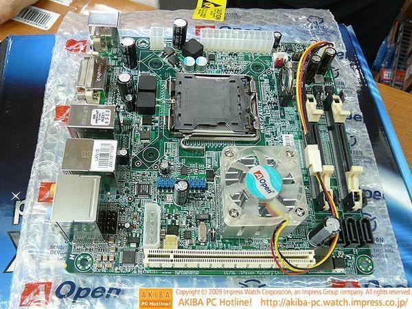 AOpen, Nvidia ION tabanlı ve LGA775 işlemcilerle uyumlu yeni anakartını satışa sundu