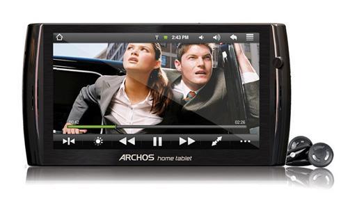 Karşınızda Archos'dan 'Home Tablet'ler: Archos 7 ve Archos 8