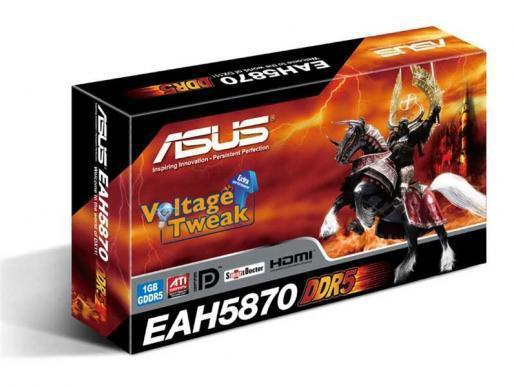 Asus Radeon HD 5800 serisi ile 1GHz'in üzerinde GPU hızı vaat ediyor