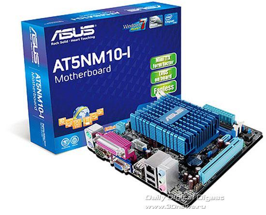 Asus, Atom 2 işlemcili Mini-ITX anakartını duyurdu: AT5NM10-I