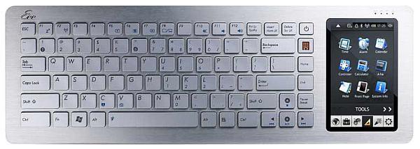 Asus Eee Keyboard sonunda satışa sunuluyor