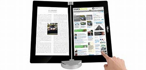 Asus'un elektronik kitap okuycusu çift ekran ve entegre kamera ile gelecek