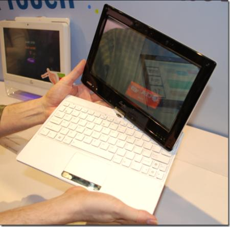 Asus'un yeni tablet bilgisayarı Eee PC T101H detaylandı