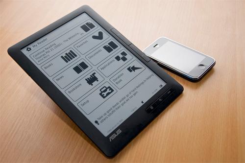 Asus'un 6 ve 7 inçlik kitap okuyucuları 2.çeyrekte satışa sunulabilir