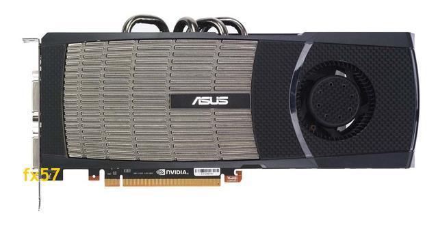 Asus'un GeForce GTX 480 modeli de ortaya çıktı