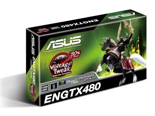 Asus'un GeForce GTX 470 ve GeForce GTX 480 hazırlıkları göründü