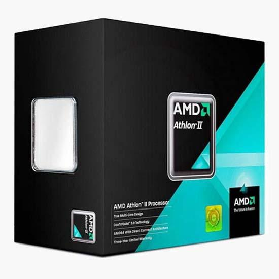 AMD 3.1GHz'de çalışan Athlon II X2 255 modelini hazırlıyor