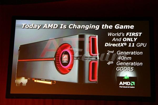 AMD: ATi Radeon HD 5870 en güçlü GPU