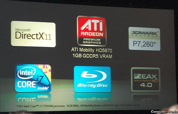 Ve ATi Mobility Radeon HD 5870 için ilk test sonucu ortaya çıktı!