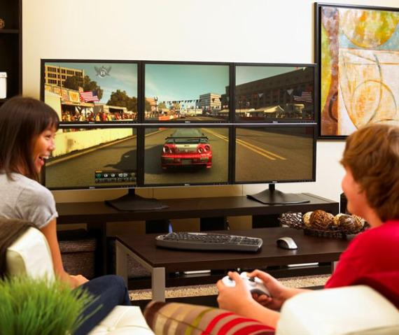 Nvidia'dan Eyefinity teknolojisine yanıt geliyor: 3D Surround