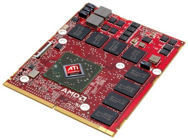 AMD'den profesyoneller için mobil GPU: FirePro M5800