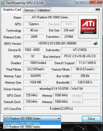 ATi Radeon HD 5970'in saat hızları netleşiyor