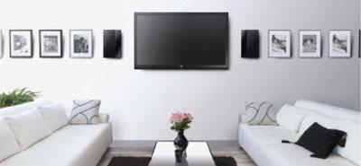 JVC'den 1.2-inç kalınlığında ev sinema sistemi