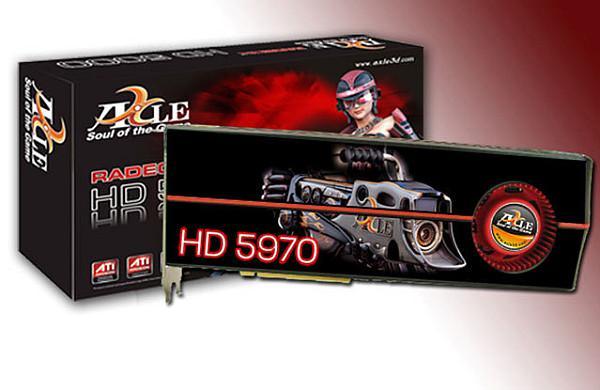Axle Radeon HD 5970 modelini lanse etti