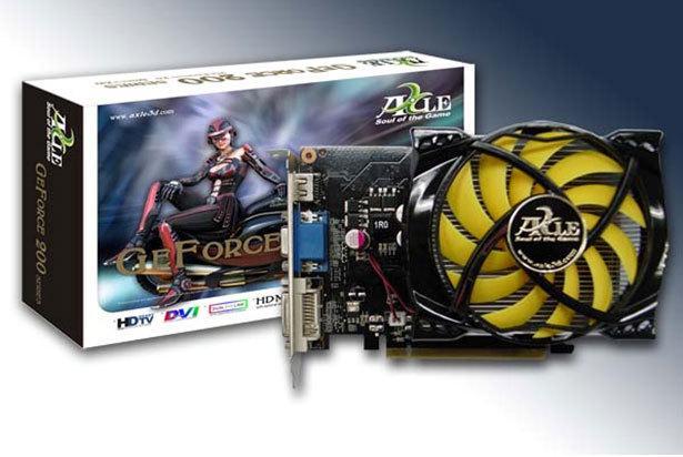 Axle DirectX 10.1 destekli GeForce GT240 modelini duyurdu