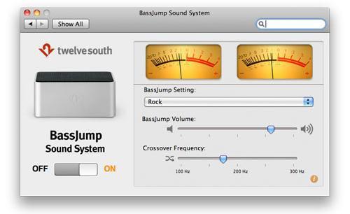 Taşınabilir Mac'lere özel harici Subwoofer: Bass Jump
