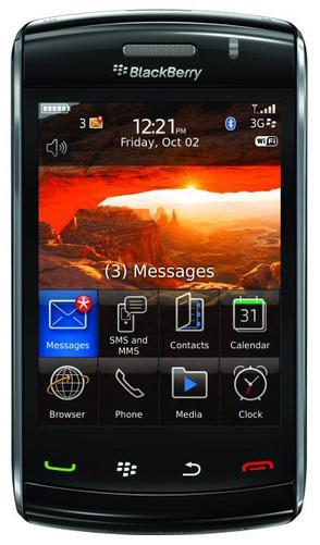 RIM, Blackberry Storm 2'i tanıttı