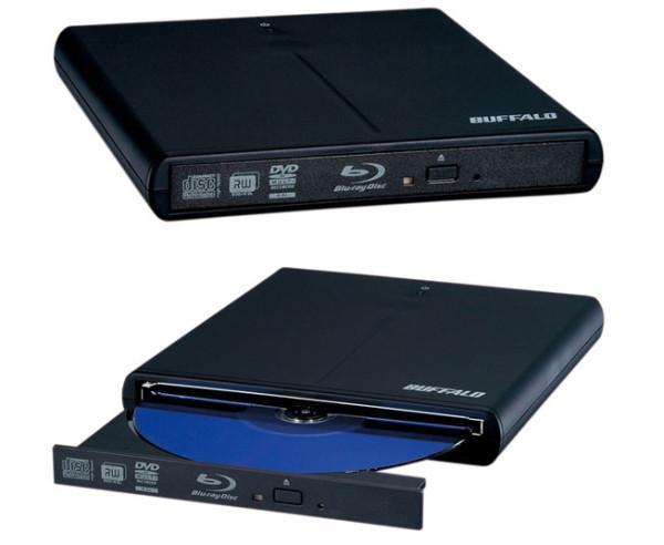 Buffalo ince tasarımlı yeni bir harici Blu-ray sürücü hazırladı