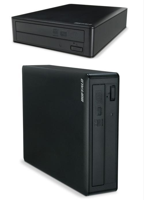 Buffalo 20x hızında kayıt yapabilen harici DVD yazıcısını kullanıma sunuyor