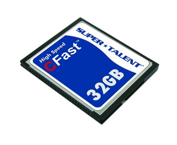 Super Talent, yüksek hızlı CFast hafıza kartlarını duyurdu
