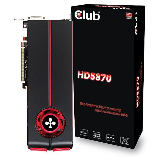 Club3D Radeon HD 5850 ve 5870 modellerini duyurdu