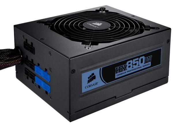 Corsair 750 Watt ve 850 Watt'lık yeni güç kaynaklarını duyurdu