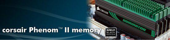 Corsair'den AMD platformuna özel 8GB kapasiteli Dominator bellek kiti