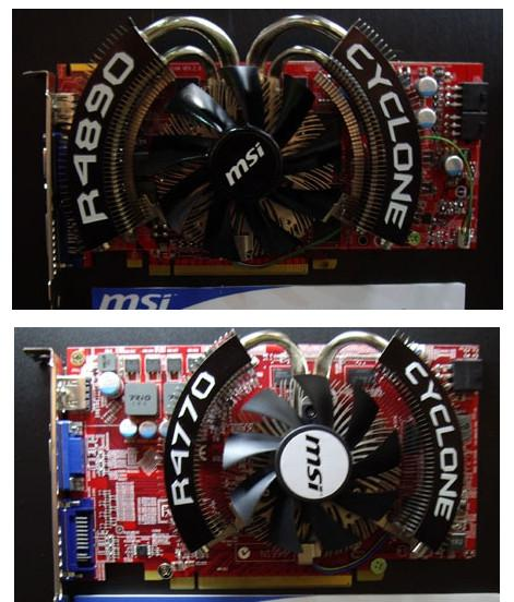 MSI, Cyclone serisi Radeon HD 4890 ve HD 4770 modellerini sergiliyor