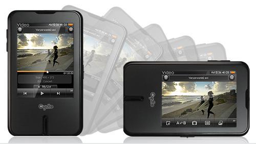 Mobil DTV'li medya oynatıcısı: Cydle P29A