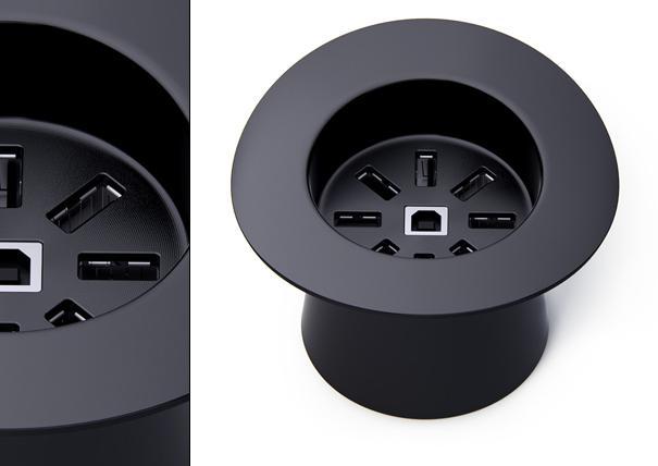 Sihirbaz şapkası tasarımlı USB çoklayıcı