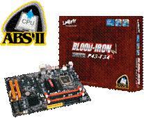 DFI'dan Core 2 serisi işlemciler için yeni anakart: Blood Iron P43-T34