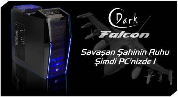 Agresif tasarımlı yeni oyuncu kasası: Dark Falcon