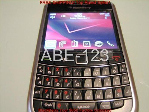 Blackberry Tour 9650 geliyor