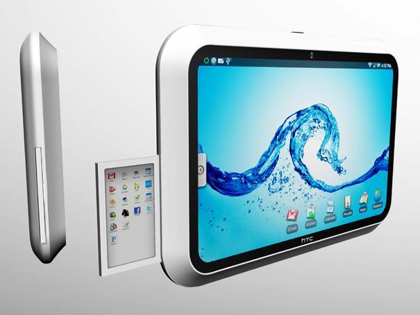 Türk tasarımcıdan tablet bilgisayar konsepti: HTC evolve